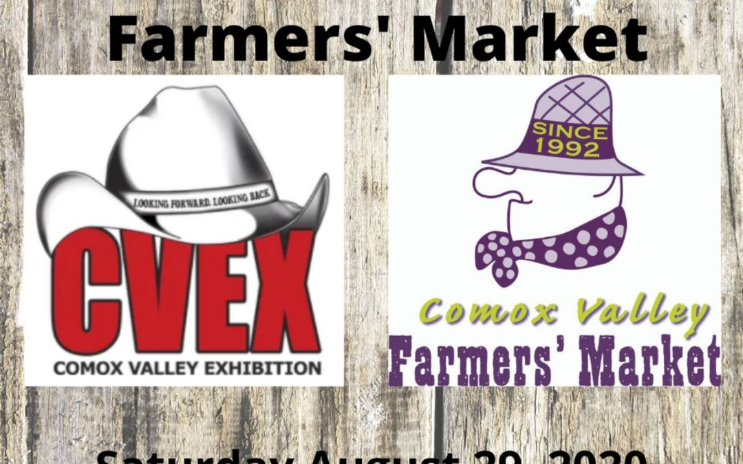 Fall Fair and Farmers' Market on Saturday August 29, 2020